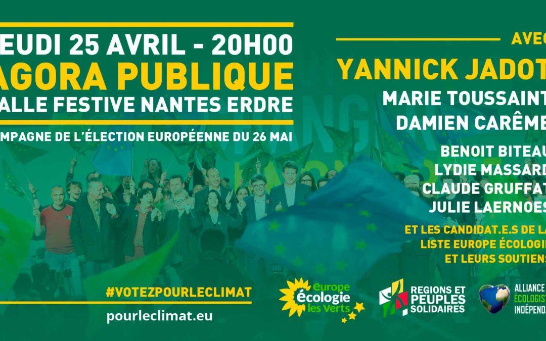 AVEC Nantes s'engage aux côtés d'EELV dans la campagne des Européennes