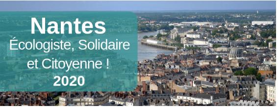 6 juillet 2019 : écologistes et citoyens engagés travaillent ensemble pour imaginer Nantes demain