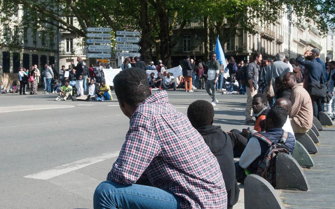 «Nantes Migrants : sollicitée par les associations, la Métropole n'assurera pas l'hébergement» (Presse Océan)