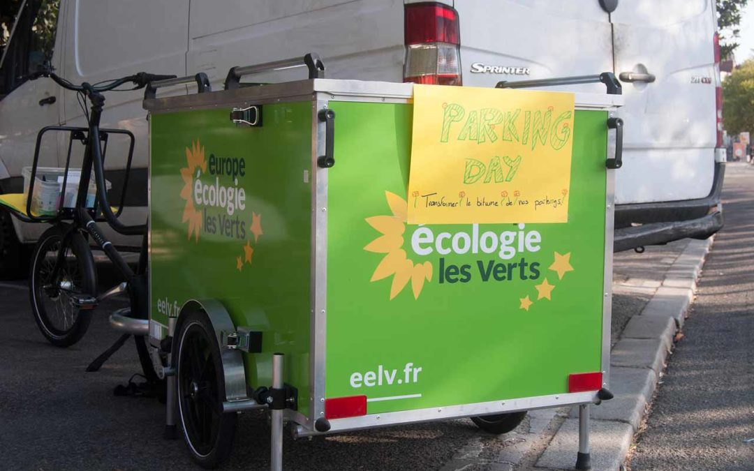 Park(ing) day 2019 : transformer le bitume de nos parkings !