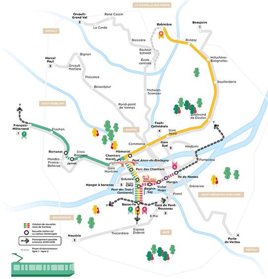 Concertation Tramway à Nantes métropole